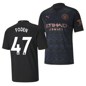 Manchester City Phil Foden Away Jersey